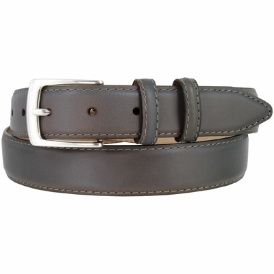 """1567-NP Genuine Leather Calfskin Dress Belt - 1 1/8"""" wide - 7 COLORS AVAILABLE"""