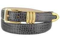 1577 Women's Italian Calfskin Leather Dress Belt
