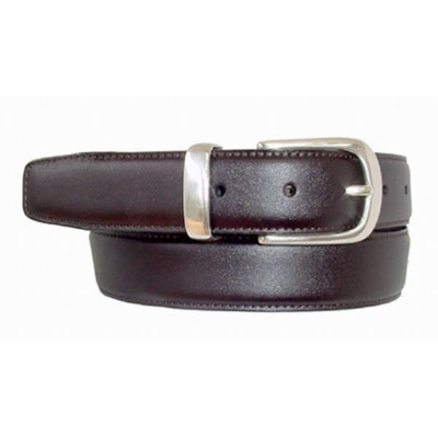 "1613 Men's Calfskin Leather Belt - 1 1/8"" wide"