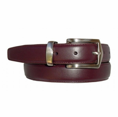 "1654 Men's Leather Dress Belt - 1 1/8"" wide"