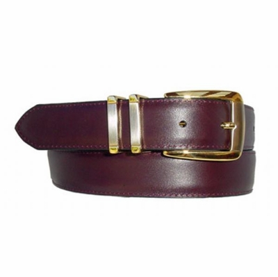 "1656 Men's Leather Dress Belt - 1 1/8"" wide"
