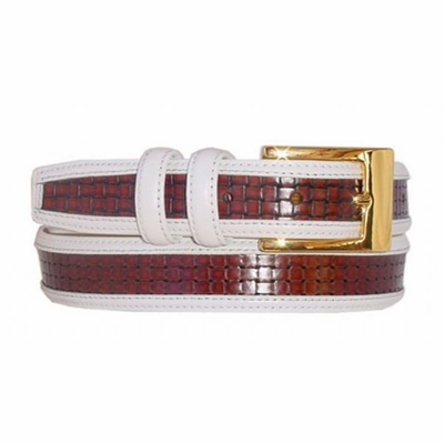 "1686 Leather Dress Belt - 1 1/4"" wide"
