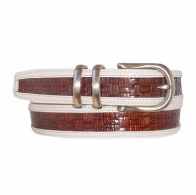 "1687 Leather Dress Belt - 1 1/4"" wide"