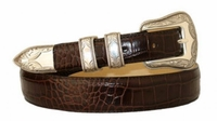 1799 Western Italian Calfskin Leather Dress Belt