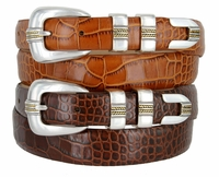 1803 Italian Calfskin Leather Dress Belt
