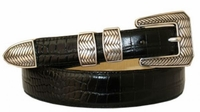 1809  Italian Calfskin Leather Dress Belt
