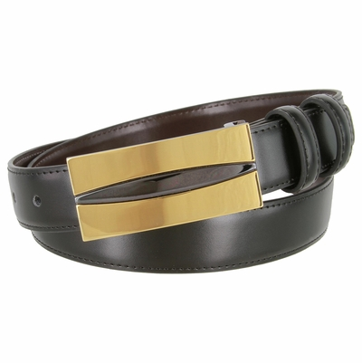 "1827 Office Dress Leather Belt - 1 1/8"" Wide"