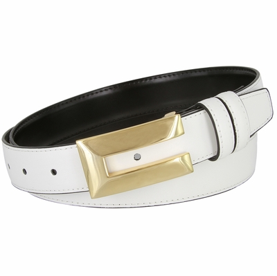 "1828XL Office Dress Genuine Leather Belt - 1 1/8"" Wide"