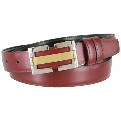 "1829 Men's Leather Dress Belt - 1 1/8"" wide"