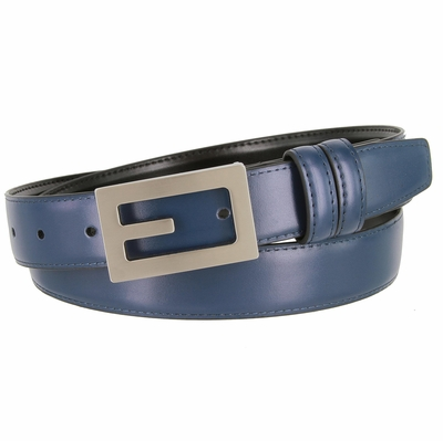 "1830 Office Dress Genuine Leather Belt - 1 1/8"" Wide"