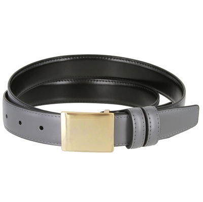 "1833  Office Dress Genuine Leather Belt - 1 1/8"" wide"