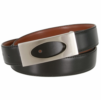 "1837 Dress Leather Belt - 1 1/8"" wide"