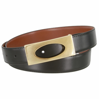 "1843 Dress Professional Leather Belt - 1 1/8"" wide"