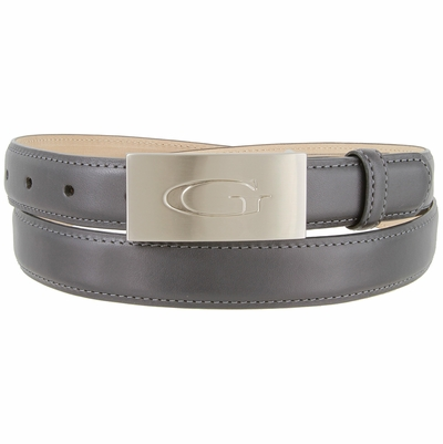 "1853 Italian Calfskin Smooth  Leather Dress Belt - 1"" wide"