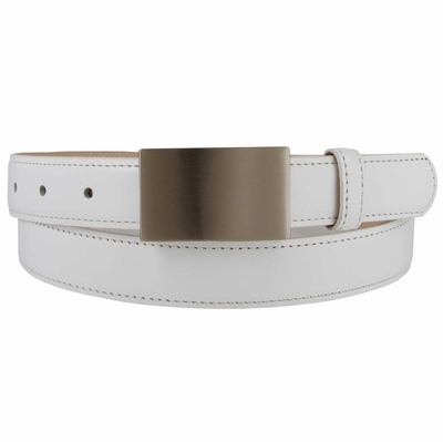"1867  Italian Calfskin Leather Dress Belt - 1"" wide"