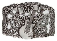 1973 Electric Guitar Belt Buckle