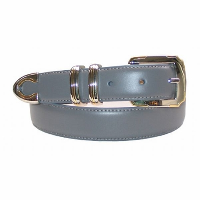 1987 Italian Calfskin Leather Dress Belt
