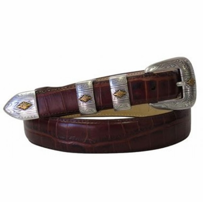 2080 Fullerton Western Leather Dress Belt