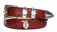 2104 Golf-Clubs Italian Calfskin Leather Dress Belt