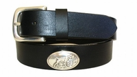 "2205 Hunting Dog full Grain Leather Belt - 1 1/4"" wide"