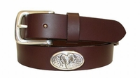 "2223 Ram Full Grain Leather Casual Belt - 1 1/4"" wide"