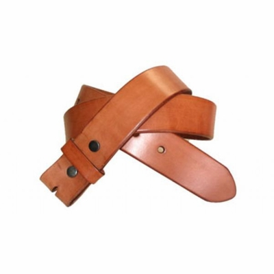 "2258 Full Grain Leather Belt Strap - 1 1/2"" wide"