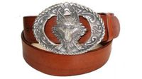 "2390  Wolf Casual Full Grain Leather Belt - 1 1/2"" wide"