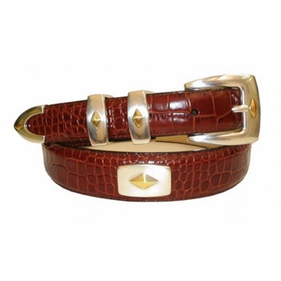 2421 Men's Italian Calfskin Leather Belt