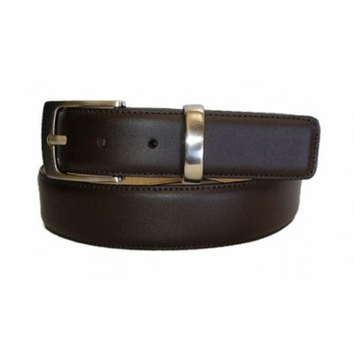 "2432 Calfskin Leather Dress Belt -  1 3/8"" wide"