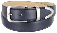 "2456 Calfskin Leather Dress Belt - 1 3/8"" wide"