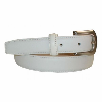 "2492 Dress Leather Belt 1"" wide"