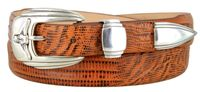 NEW!!! 2041  Longhorn Steer - Calfskin Leather Cowboy Belt
