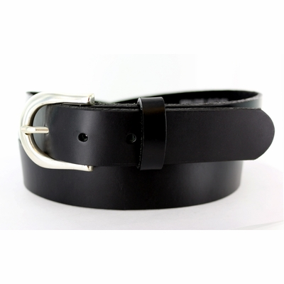 "2547 Casual Leather Belt - 1 1/4"" wide Made in USA"