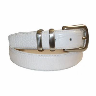 "2559 Embossed Leather Dress Belt - 1 1/4"" Wide"