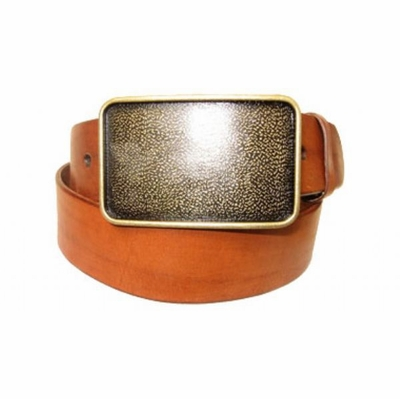"2658 Casual Leather Belt - 1 1/2"" wide"
