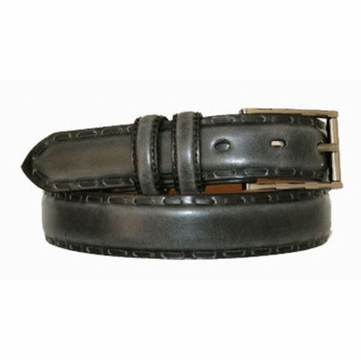"2701 Lacing Genuine Leather Dress Belt - 1 1/8"" wide"