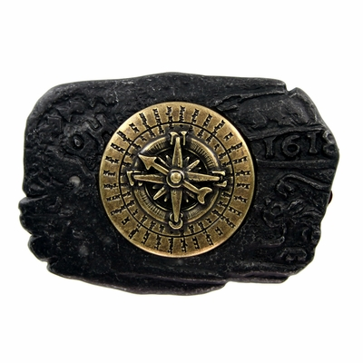 HA2340 - Compass Trophy Belt Buckle