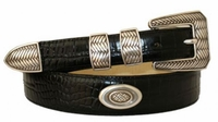 2888 Italian Calfskin Leather Golf  Dress Belt