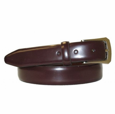 "2934 Genuine Leather Dress Belt - 1 1/8"" wide - BROWN"