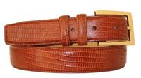 "2968 Men's Embossed Calfskin Leather Dress Belt - 1 1/4"" wide"