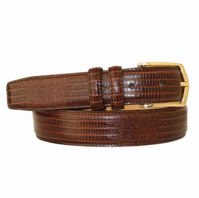 "2973 Calfskin Leather Dress Belt - 1 1/4"" wide"