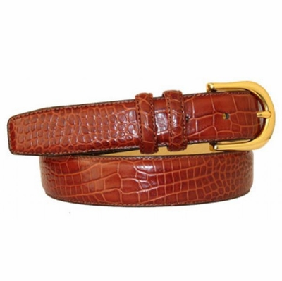 "2980 Italian Calfskin Leather Dress Belt - 1 1/4"" wide"
