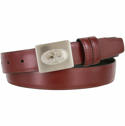 2987 Golf Genuine Leather Dress Belt - 1 1/8""