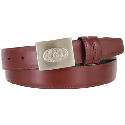 "2989 Golf Genuine Leather Dress Belt - 1 1/8"" wide"