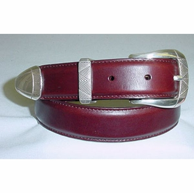 "299 Calfskin Leather Dress Belt - 1 1/8"" wide"