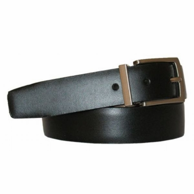 "2993 Reversible Leather Dress Belt - 1 1/8"" wide   Available up to size 54"""