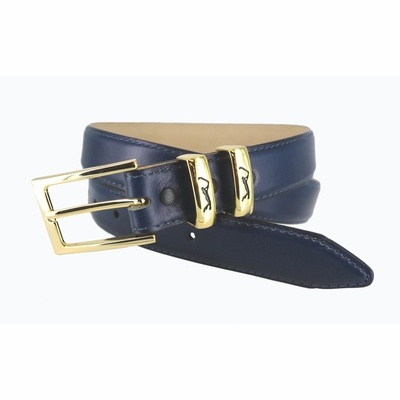 "3000 Golf Dress Calfskin Leather Belt - 1 1/8"" wide"