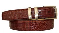 "3008 Italian Calfskin Leather Dress Belt - 1 1/4"" wide"
