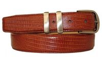 "3009 Calfskin Leather Dress Belt - 1 1/4"" wide"