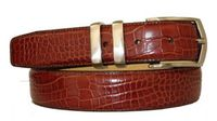 "3012 Calfskin Leather Dress Belt - 1 1/4"" wide"